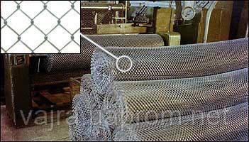 Сетка Рабица 2 х2,2 заводская, ГОСТ 5336-8 цена