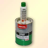 Шпатлевка распыляемая (жидкая) Novol SPRAY 0,8 л