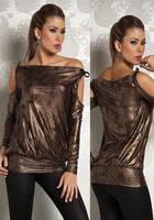 Леопардовая блуза - туника L25014