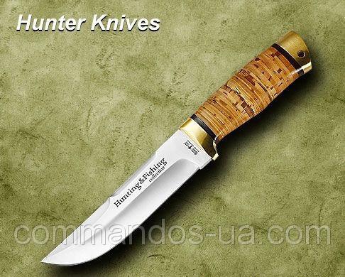 из какой стали лучше купить нож для охоты и рыбалки