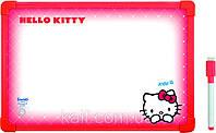 Доска магнитная, сухостираемая, А4  + маркер KITE 2013 Hello Kitty 146