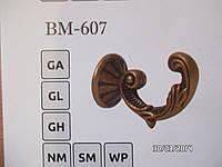 Держатель для штор металлический BМ 607