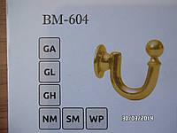 Держатель для штор металлический BМ 604