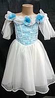 Платье нарядное для девочки в разных цветах.