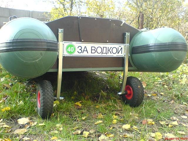 съемные колеса для резиновых лодок
