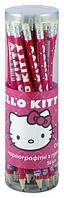 Карандаши графитные с резинкой (тубус, 36 шт) KITE 2013 Hello Kitty 056