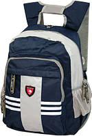 Рюкзак городской, молодежный Derby 0170482 красный; синий; черный