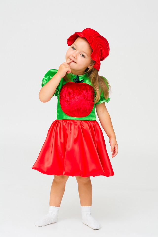 Костюм помидорки своими руками для девочки 47