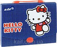 Портфель-папка на застежке А4 KITE 2014 Hello Kitty 209
