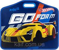 Портфель пластиковый на липучках А3 KITE 2014 Hot Wheels 208