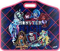 Портфель пластиковый на липучках А3 KITE 2014 Monster High 208