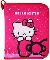 Папка объемная на молнии В5 KITE 2013 Hello Kitty 203-1