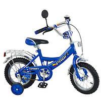 Велосипед PROFI детский 12 д. P 1243(синий))