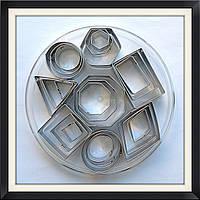 Набор каттеров Геометрические фигуры 24 шт(8 видов)