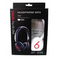 Спортивные наушники с mp3 + radio Beats by Dr. Dre XF-238