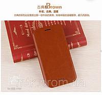 Чехол-книжка MOFI для телефона Lenovo A760 коричневый