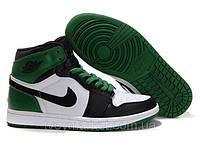 Кроссовки баскетбольные Nike Air jordan Alpha I Зеленые Оригинальные