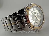 Часы мужски Q@Q  5Bar стильные на металлическом браслете, q842j401y