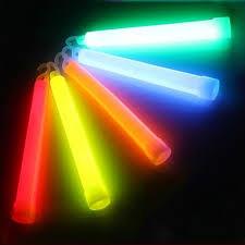 Неоновые светящиеся палочки (15 см)