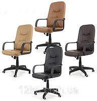 Офисное кожаное кресло EKO 8009 3 цвета