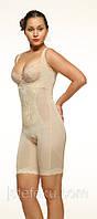Женское корректирующее белье Комбинезон на молнии и крючках , сильная утяжка