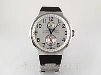 Мужские часы Ulysse Nardin - Le Locle -  механические с автозаводом, копия ААА, цвет серебро
