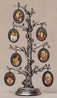 """Фоторамка """"Семейное дерево"""", 7 рамок (28 см)"""