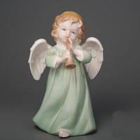 """Фарфоровая статуэтка """"Ангел с дудочкой"""" 17 см купить в Виннице"""
