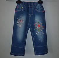Детские джинсовые штаны для девочки 56479