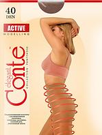 Колготы CONTE ACTIVE 40 ден (natural, nero, bronz, mocca) (2; 3; 4)
