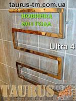 Полотенцесушитель Ultra 4/550 из нержавеющей стали. Профильная труба 30х30 (квадратное сечение).