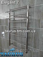 Нержавеющий полотенцесушитель Elegant 7/400 мм для общей и автономной системы отопления.