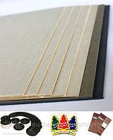 Влаговпитывающий (пивной) картон, беленый. Толщина 1.2 мм. (Костеры, бирдекели, бирки, авто-ароматизаторы.)