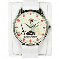 Оригинальные эксклюзивные часы от AndyWatch. Рисующая девушка. купить с бесплатной доставкой