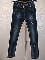 Модные джинсы для  девочек Капля
