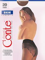 Колготы CONTE BIKINI 20 ден (nero, natural, bronz) (2; 4)