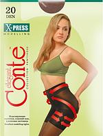 Колготы CONTE X-PRESS 20 ден (nero, bronz, natural, shade) (2; 3; 4)
