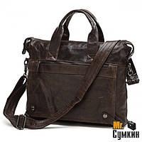 Кожаный портфель мужской S.J.D. Brown