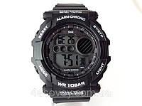 Часы  мужские Q@Q  Alarm Chrono 10Bar спортивные, можно плавать, противоударные