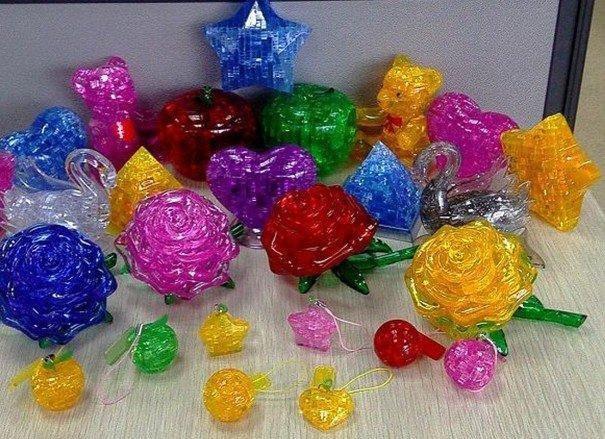 3D Crystal Puzzles оптом