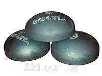 Заглушка стальная сферическая (эллиптическая) Ду76 ГОСТ 17379-2001