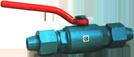 Кран шаровой 15с35п Ду15 Ру80 под приварку (муфтовый)
