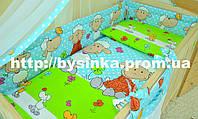 Наборы детской постели из 6 ед (без балдахина и кармана). Барашки