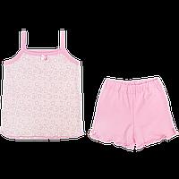 Костюмчик для девочки: майка без рукавов и шортики; тонкий хлопок, ТМ Алекс, р. 92, 116