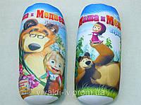 Подушка-валик детская Маша и Медведь, подушка-игрушка