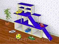 Детская игровая стенка Автосалон