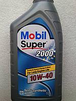 Моторное масло Mobil Super 2000 10w40 (1 литр)