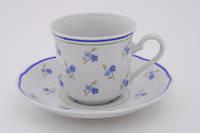 Leander Кофейная чашка с блюдцем Мэри-Энн 150мл 03120414-0887