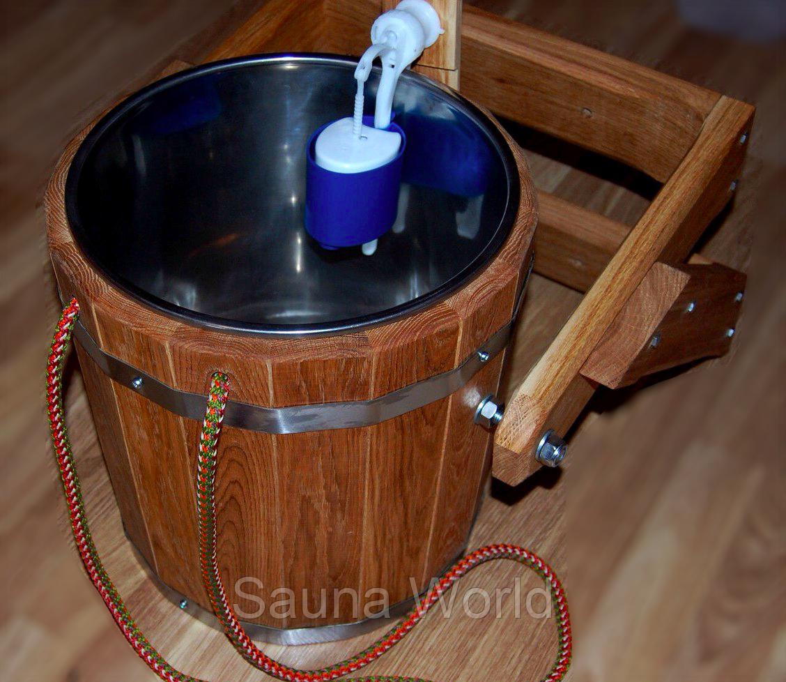 Ведро обливное для бани схема монтажа