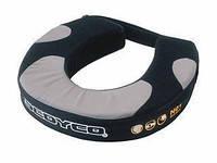 Мотозащита шеи SCOYCO N01 (PU, махра, черно-серый)